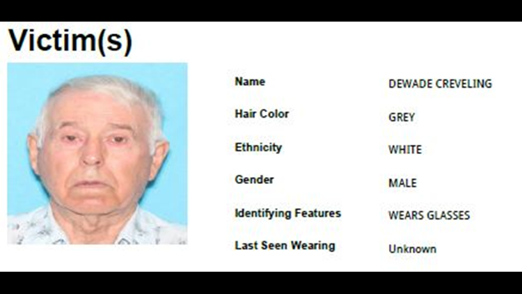 Silver Alert issued for missing Okanogan County man last seen Friday