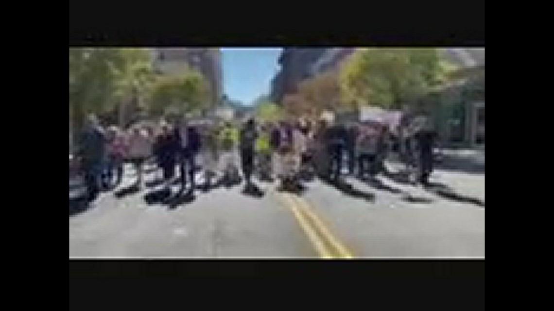 Antivax parade