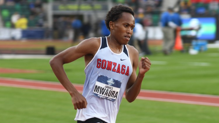 Gonzaga's James Mwaura finishes 14th in 10K race at Olympic Trials