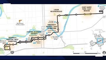 How rapid is Spokane's rapid transit project?