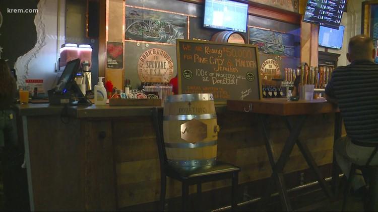 No-Li Brewhouse in Spokane raises money for Malden, Pine City wildfire victims