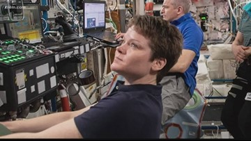 Spokane astronaut Anne McClain prepares for her return to Earth