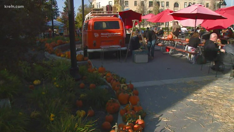 Celebrating fall in Spokane:  Great Pumpkin Festival at Brick West Brewing