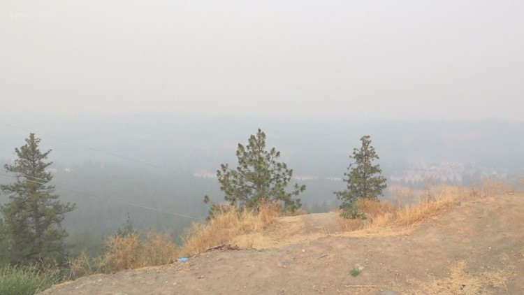 'Unhealthy' air quality in Spokane County Friday morning