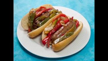 Tom's BBQ Forecast: NYC Italian sausage sandwiches