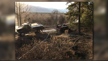 3 Idaho wildland fires broke out on Wednesday