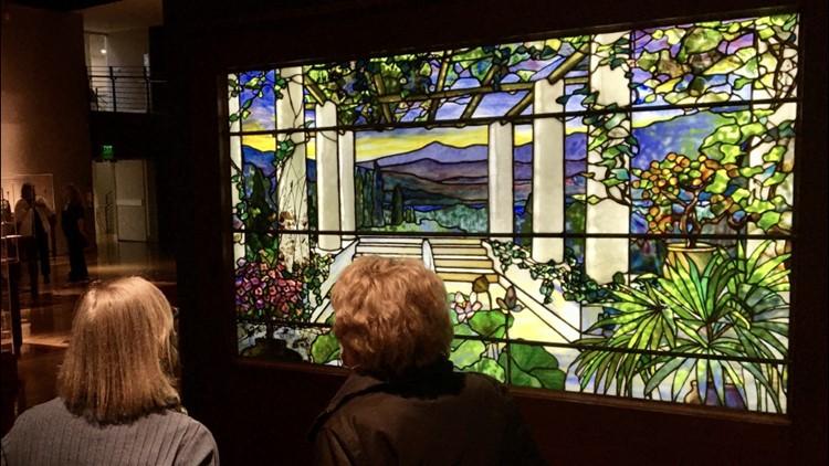 Louis Comfort Tiffany Exhibit comes to Spokane