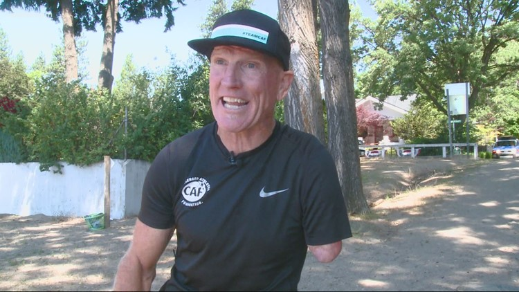'The race brings everyone together': Ironman athletes with disabilities competing in the race this year