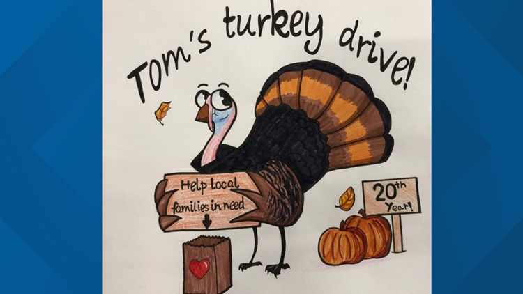 Spokane Valley teen wins 2019 Tom's Turkey Drive T-Shirt Contest