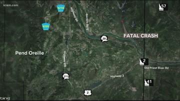 Spokane man arrested on suspicion of vehicular homicide in Newport crash