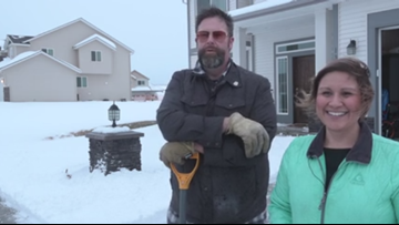 Spokane County neighbors help each other dig out during snowstorm