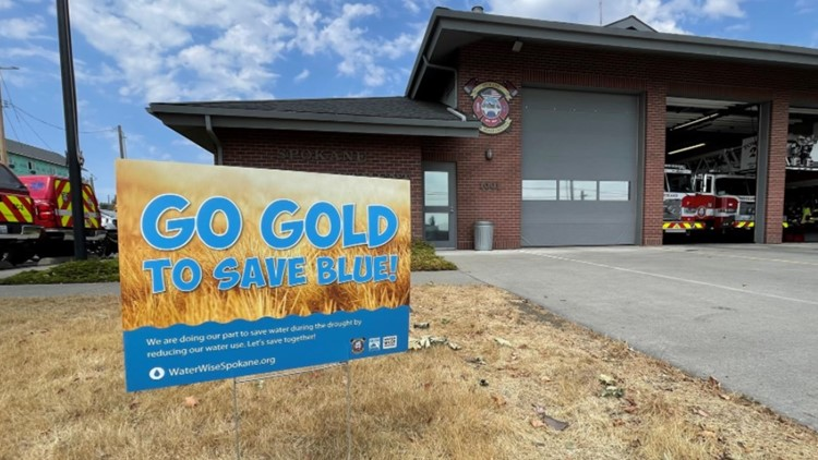 'Go Gold': City of Spokane urges community members to reduce lawn watering to combat drought