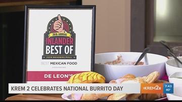 National Burrito Day with De Leon's Taco & Bar