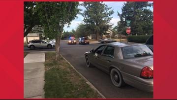 Car shot during North Spokane road rage incident, suspect at large