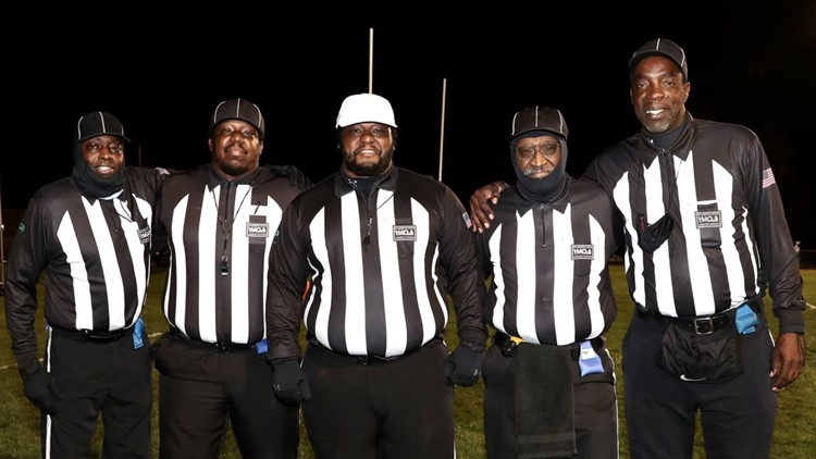 'This is great': First all-Black referee crew in Spokane history