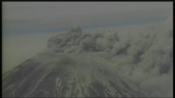 RAW Video: Mount St. Helens eruption on May 18, 1980