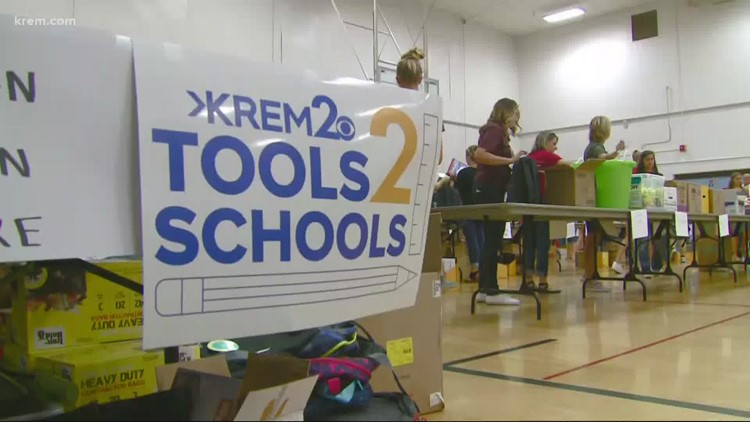 Help Tools 2 Schools provide supplies to kids in need during pandemic
