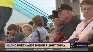 Inland Northwest Honor Flight takes off Monday