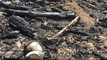 Shoshone Co. fire crews suspect arsonist is to blame for cluster of small fires