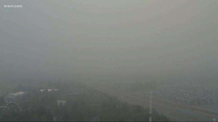 Live updates: Spokane's air quality returns to 'good' range