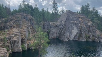 Man dies while cliff jumping off 'The Cove' on Long Lake