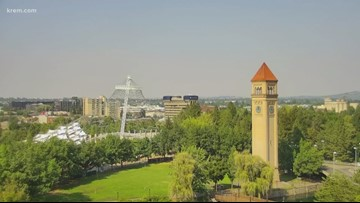 Spokane air quality drops to 'unhealthy for some groups' on Wednesday
