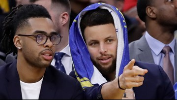 Report: Steph Curry will attend Klay Thompson's jersey retirement in Pullman