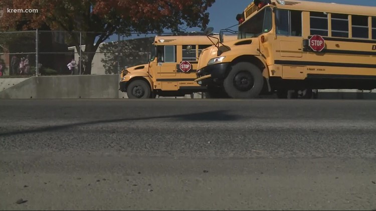 'A safety concern': How nationwide bus driver shortage is impacting Spokane Public Schools