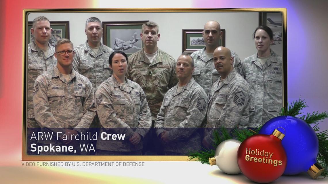 Holiday Greetings: ARW Fairchild Crew