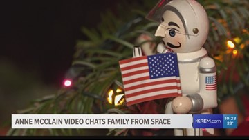 Spokane astronaut Anne McClain's family celebrates holidays on Earth