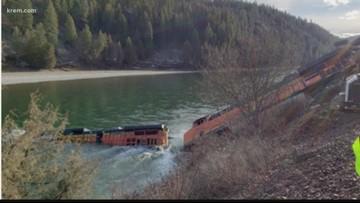 'No longer a threat' of petroleum release in Kootenai River from BNSF train derailment