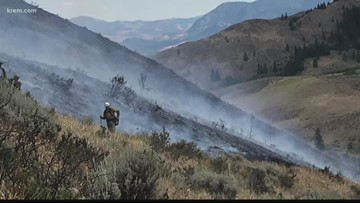 Rendezvous Fire 90 percent contained