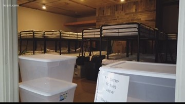 Portable showers available at South Cannon Warming Center