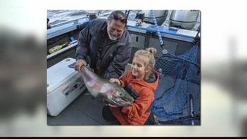 Sandpoint girl breaks Idaho record with 36.5-inch rainbow trout