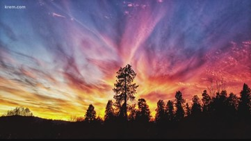 Why are sunsets in the Inland Northwest so beautiful?