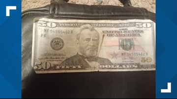 Thief pays 9-year-old Spokane girl with a fake $50 bill