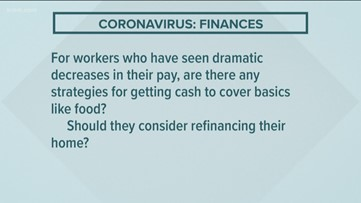 Coronavirus and finances: Your questions answered Part 2