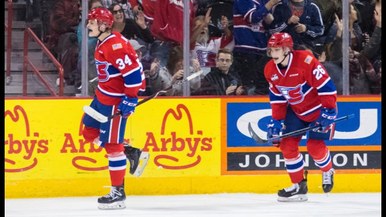 Spokane Chiefs give up lead, lose Game Two of WHL Western Conference Finals