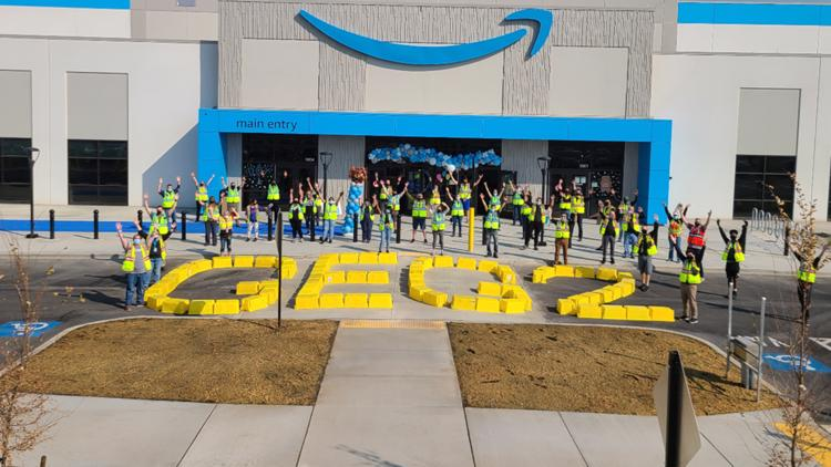How is the new Amazon Fulfillment Center different from the West Plains facility?