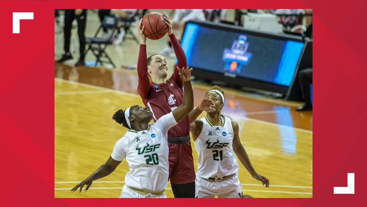 WSU women knocked out of NCAA tournament in 57-53 loss to South Florida