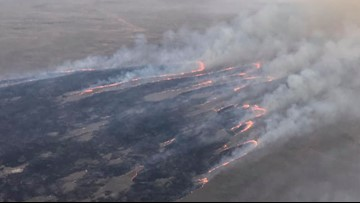 Wind moves huge wildfire away from nuclear facilities in Idaho