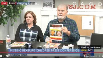 $20,000 reward offered for information about missing Idaho children