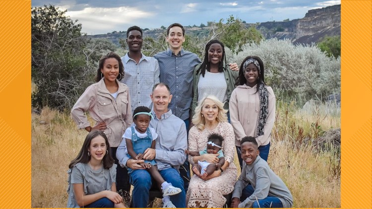 An Idaho family shares their story of the beauty of adoption