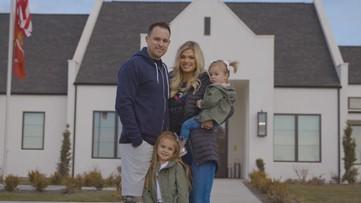 Wounded Idaho Marine, family move into donated adaptive house