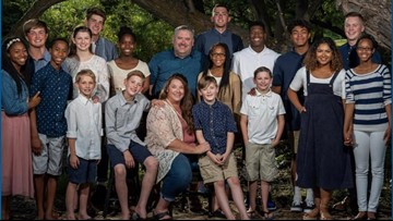 Boise family with 18 children is battling a devastating diagnosis and leaning on their faith