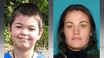 AMBER Alert issued for 6-year-old boy in Rathdrum, mother named as suspect