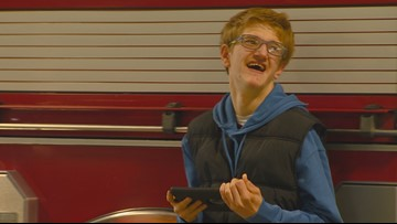 Idaho firefighters welcome visits from teen with autism