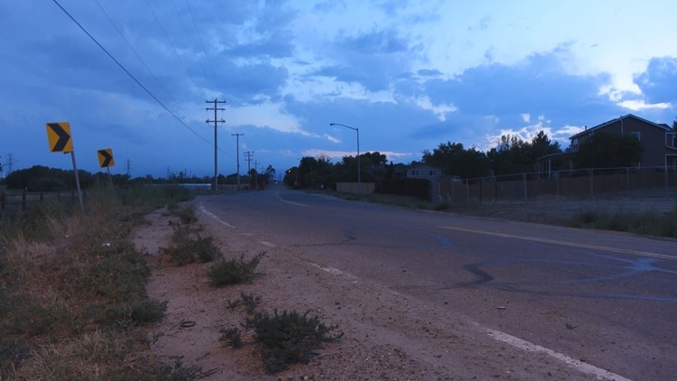 Riverdale Road curve