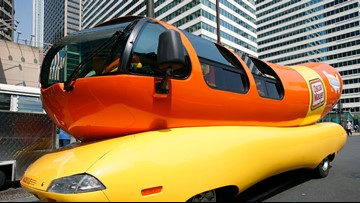 Oscar Mayer Wienermobile stopping at 4 Spokane supermarkets this weekend