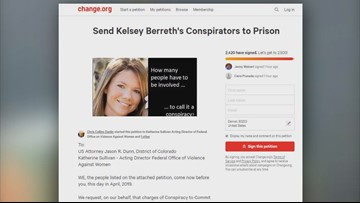 Online petition seeks more charges in Kelsey Berreth case